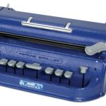 A Perkins Braille writer