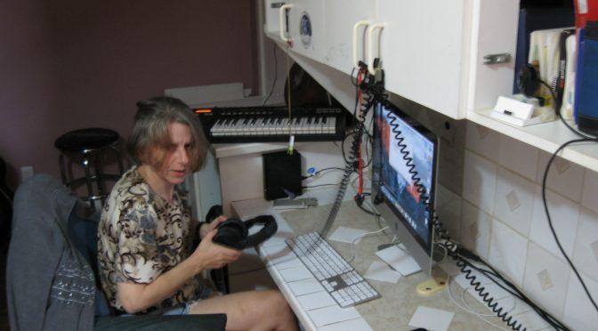 JennyK at the computer, wondering where to start.